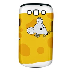 Rat Mouse Cheese Animal Mammal Samsung Galaxy S Iii Classic Hardshell Case (pc+silicone) by Nexatart