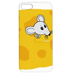 Rat Mouse Cheese Animal Mammal Apple Iphone 5 Hardshell Case With Stand