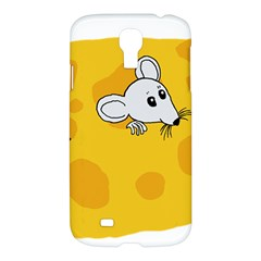 Rat Mouse Cheese Animal Mammal Samsung Galaxy S4 I9500/i9505 Hardshell Case