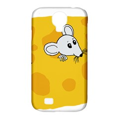 Rat Mouse Cheese Animal Mammal Samsung Galaxy S4 Classic Hardshell Case (pc+silicone)