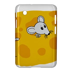 Rat Mouse Cheese Animal Mammal Samsung Galaxy Tab 2 (7 ) P3100 Hardshell Case