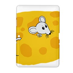 Rat Mouse Cheese Animal Mammal Samsung Galaxy Tab 2 (10 1 ) P5100 Hardshell Case  by Nexatart