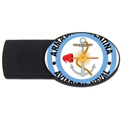 Argentine Naval Aviation Patch Usb Flash Drive Oval (4 Gb) by abbeyz71