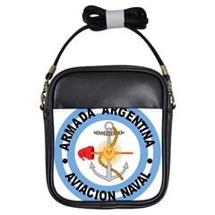 Argentine Naval Aviation Patch Girls Sling Bags by abbeyz71