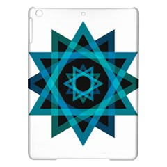 Transparent Triangles Ipad Air Hardshell Cases
