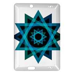 Transparent Triangles Amazon Kindle Fire Hd (2013) Hardshell Case