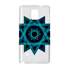 Transparent Triangles Samsung Galaxy Note 4 Hardshell Case