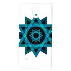 Transparent Triangles Galaxy Note 4 Back Case