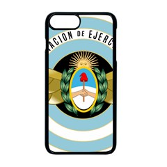 Argentine Army Aviation Badge Apple Iphone 8 Plus Seamless Case (black) by abbeyz71