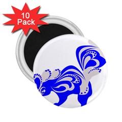 Skunk Animal Still From 2 25  Magnets (10 Pack)