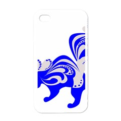 Skunk Animal Still From Apple Iphone 4 Case (white)