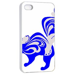 Skunk Animal Still From Apple Iphone 4/4s Seamless Case (white)