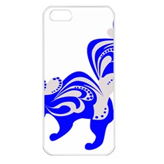 Skunk Animal Still From Apple Iphone 5 Seamless Case (white)