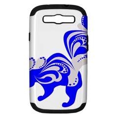 Skunk Animal Still From Samsung Galaxy S Iii Hardshell Case (pc+silicone)