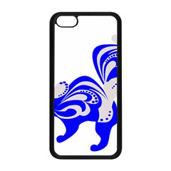 Skunk Animal Still From Apple Iphone 5c Seamless Case (black)