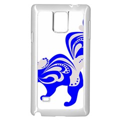 Skunk Animal Still From Samsung Galaxy Note 4 Case (white)