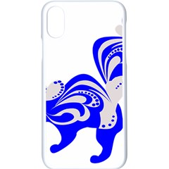 Skunk Animal Still From Apple Iphone X Seamless Case (white)