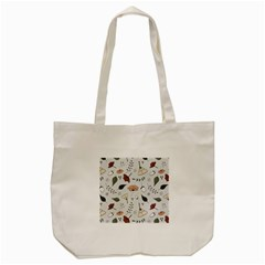 Grey Toned Pattern Tote Bag (cream)