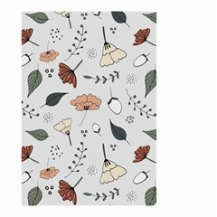 Grey Toned Pattern Small Garden Flag (two Sides)