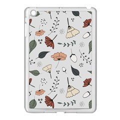 Grey Toned Pattern Apple Ipad Mini Case (white)