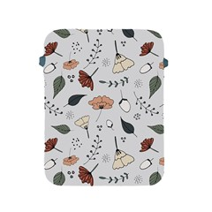 Grey Toned Pattern Apple Ipad 2/3/4 Protective Soft Cases