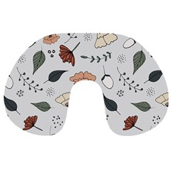 Grey Toned Pattern Travel Neck Pillows