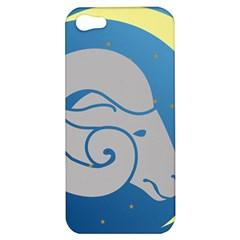 Ram Zodiac Sign Zodiac Moon Star Apple Iphone 5 Hardshell Case