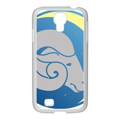 Ram Zodiac Sign Zodiac Moon Star Samsung Galaxy S4 I9500/ I9505 Case (white)