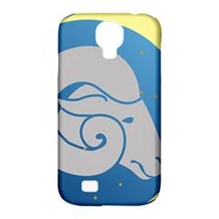 Ram Zodiac Sign Zodiac Moon Star Samsung Galaxy S4 Classic Hardshell Case (pc+silicone)