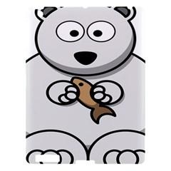 Bear Polar Bear Arctic Fish Mammal Apple Ipad 3/4 Hardshell Case