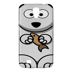 Bear Polar Bear Arctic Fish Mammal Samsung Galaxy Mega 6 3  I9200 Hardshell Case