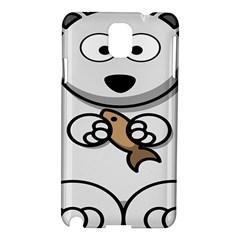 Bear Polar Bear Arctic Fish Mammal Samsung Galaxy Note 3 N9005 Hardshell Case