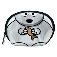 Bear Polar Bear Arctic Fish Mammal Accessory Pouches (medium)