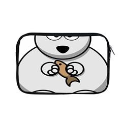 Bear Polar Bear Arctic Fish Mammal Apple Macbook Pro 13  Zipper Case