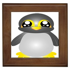 Cute Penguin Animal Framed Tiles