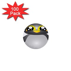Cute Penguin Animal 1  Mini Buttons (100 Pack)