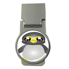 Cute Penguin Animal Money Clips (round)
