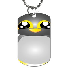 Cute Penguin Animal Dog Tag (one Side)