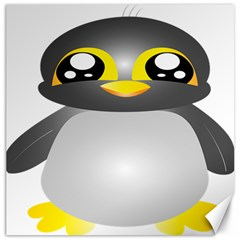 Cute Penguin Animal Canvas 12  X 12