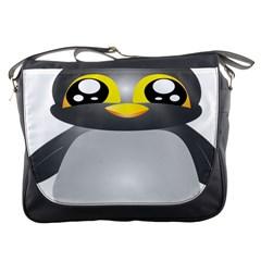 Cute Penguin Animal Messenger Bags