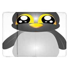 Cute Penguin Animal Samsung Galaxy Tab 8 9  P7300 Flip Case