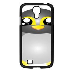 Cute Penguin Animal Samsung Galaxy S4 I9500/ I9505 Case (black)