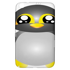 Cute Penguin Animal Samsung Galaxy Tab 3 (8 ) T3100 Hardshell Case