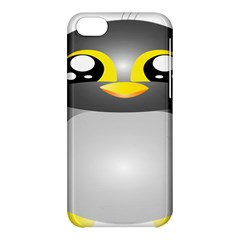 Cute Penguin Animal Apple Iphone 5c Hardshell Case by Nexatart