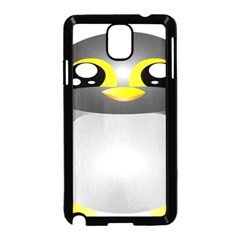 Cute Penguin Animal Samsung Galaxy Note 3 Neo Hardshell Case (black)