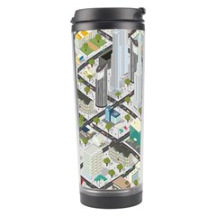 Simple Map Of The City Travel Tumbler