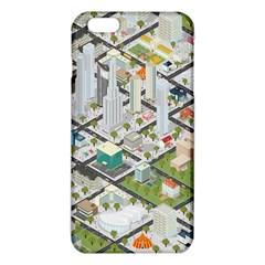 Simple Map Of The City Iphone 6 Plus/6s Plus Tpu Case