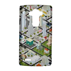 Simple Map Of The City Lg G4 Hardshell Case