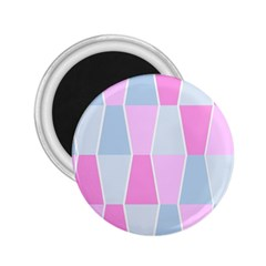 Geometric Pattern Design Pastels 2 25  Magnets