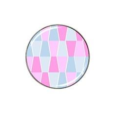 Geometric Pattern Design Pastels Hat Clip Ball Marker (10 Pack)